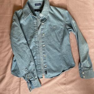 Façonnable chambray button up! LIKE NEW!